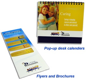 Small Calenders and Flyers